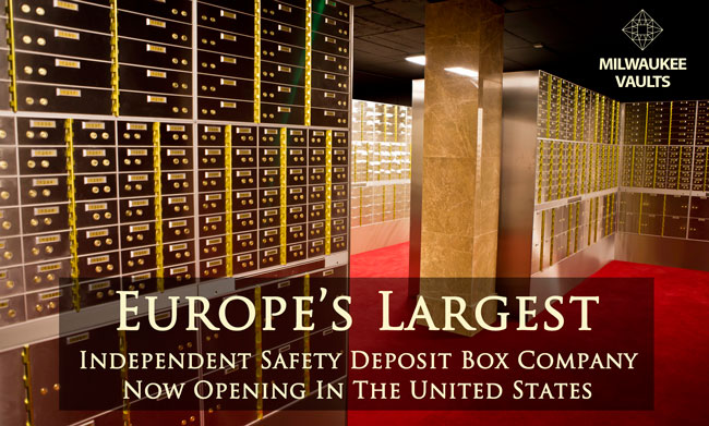 SAFETY DEPOSIT BOX FACILITY MILWAUKEE VAULTS